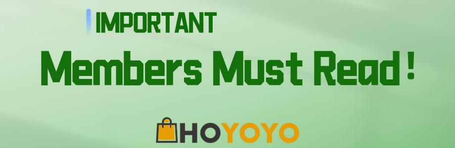 IMPORTANT Members Must Read