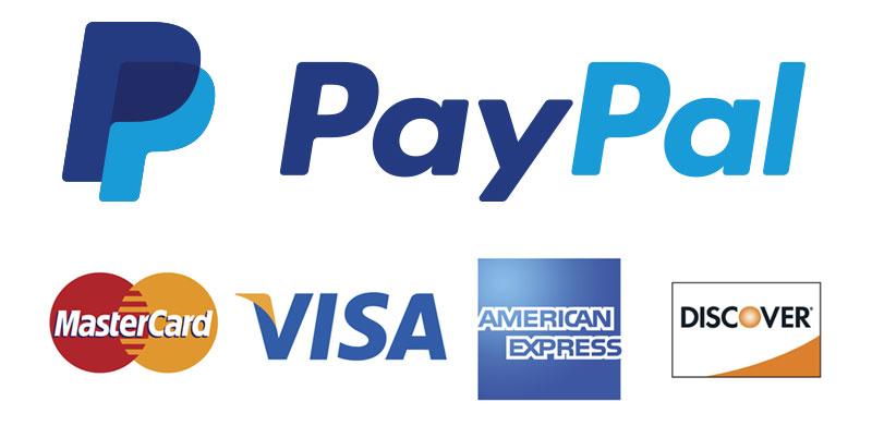 PayPal支持信用卡付款