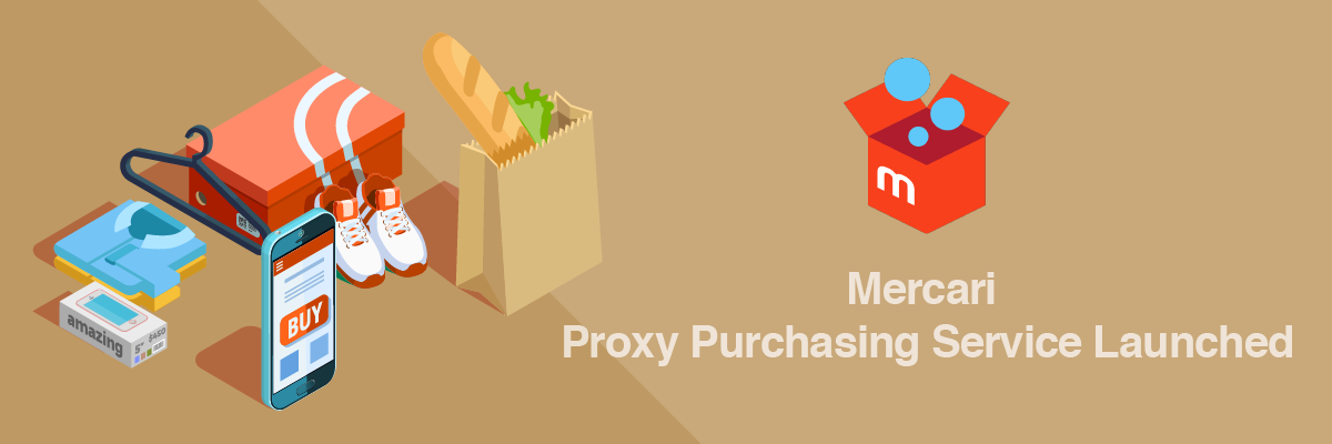 Mercari Japan English Proxy Purchasing
