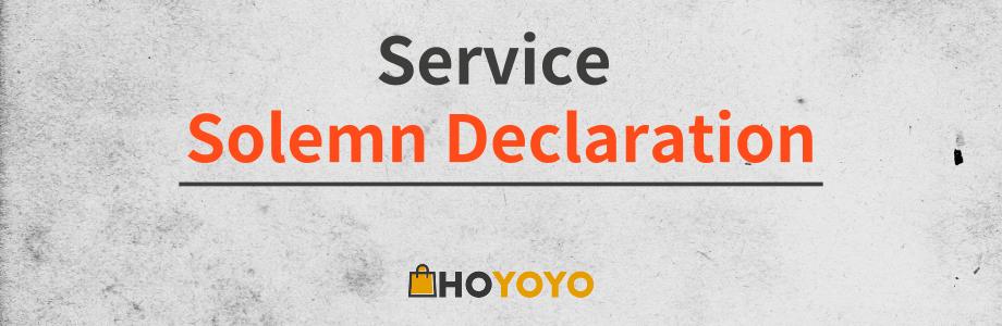 Hoyoyo Solemn Declaration